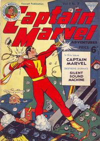 Cover Thumbnail for Captain Marvel [Captain Marvel Adventures] (L. Miller & Son, 1953 series) #v1#7