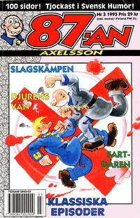 Cover Thumbnail for 87:an Axelsson (Semic, 1994 series) #3/1995