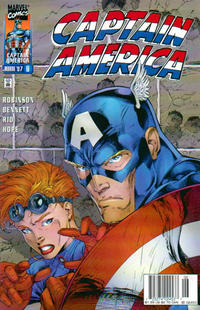 Cover Thumbnail for Captain America (Marvel, 1996 series) #8 [Newsstand Edition]