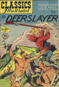 Cover Thumbnail for Classics Illustrated (Gilberton, 1948 series) #17