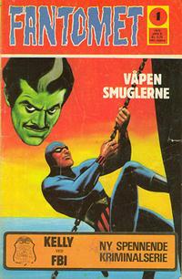 Cover Thumbnail for Fantomet (Nordisk Forlag, 1973 series) #4/1973