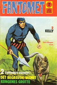 Cover Thumbnail for Fantomet (Nordisk Forlag, 1973 series) #7/1973