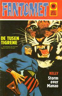 Cover Thumbnail for Fantomet (Nordisk Forlag, 1973 series) #8/1973