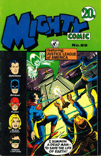 Cover Thumbnail for Mighty Comic (K. G. Murray, 1960 series) #89