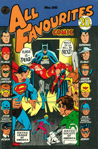 Cover Thumbnail for All Favourites Comic (K. G. Murray, 1960 series) #96