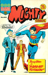Cover Thumbnail for Mighty Comic (K. G. Murray, 1960 series) #105