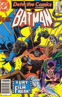 Cover for Detective Comics (DC, 1937 series) #562 [Newsstand]