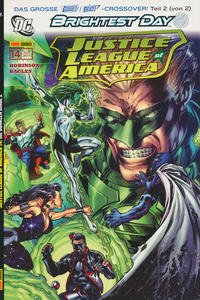 Cover Thumbnail for Justice League of America Sonderband (Panini Deutschland, 2007 series) #14 - Die dunklen Dinge 2