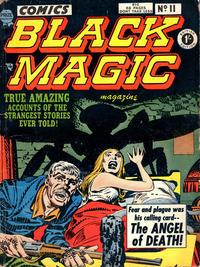 Cover Thumbnail for Black Magic Comics (Arnold Book Company, 1952 series) #11