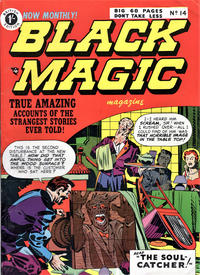Cover Thumbnail for Black Magic Comics (Arnold Book Company, 1952 series) #14