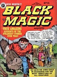 Cover Thumbnail for Black Magic Comics (Arnold Book Company, 1952 series) #15