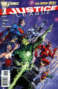 Cover Thumbnail for Justice League (DC, 2011 series) #1 [Third Printing]