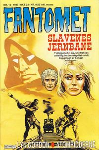 Cover Thumbnail for Fantomet (Semic, 1976 series) #12/1987
