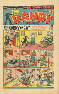 Cover Thumbnail for The Dandy Comic (D.C. Thomson, 1937 series) #431