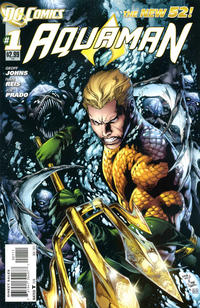 Cover Thumbnail for Aquaman (DC, 2011 series) #1 [Direct Sales]