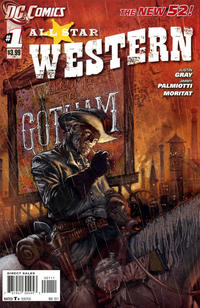 Cover Thumbnail for All Star Western (DC, 2011 series) #1