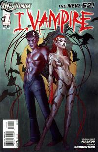 Cover Thumbnail for I, Vampire (DC, 2011 series) #1
