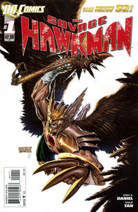 Cover Thumbnail for The Savage Hawkman (DC, 2011 series) #1