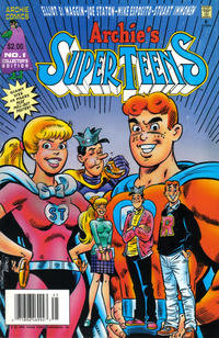 Cover Thumbnail for Archie's Super Teens (Archie, 1994 series) #1 [Newsstand Edition]
