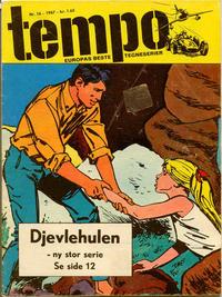 Cover Thumbnail for Tempo (Hjemmet / Egmont, 1966 series) #16/1967