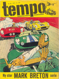 Cover Thumbnail for Tempo (Hjemmet / Egmont, 1966 series) #23/1967