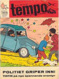 Cover Thumbnail for Tempo (Hjemmet / Egmont, 1966 series) #34/1967