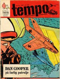 Cover for Tempo (Hjemmet / Egmont, 1966 series) #35/1967