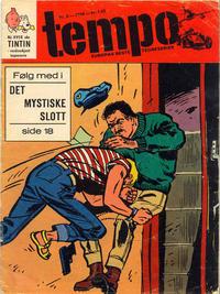 Cover Thumbnail for Tempo (Hjemmet / Egmont, 1966 series) #8/1968