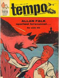 Cover Thumbnail for Tempo (Hjemmet / Egmont, 1966 series) #6/1968