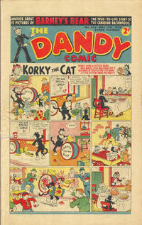 Cover Thumbnail for The Dandy Comic (D.C. Thomson, 1937 series) #442