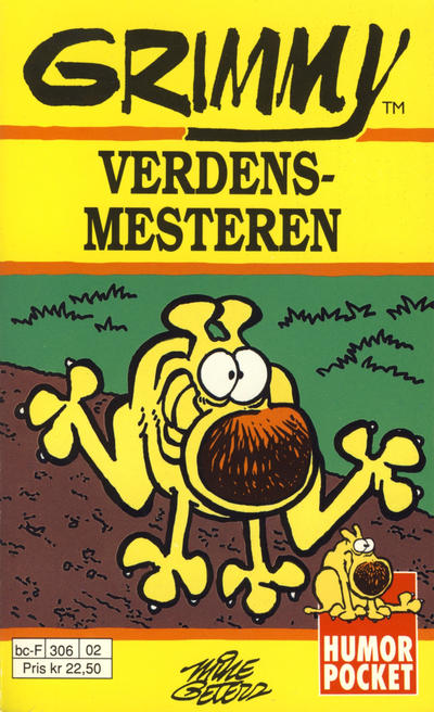 Cover for Humor pocket (Hjemmet / Egmont, 1990 series) #8