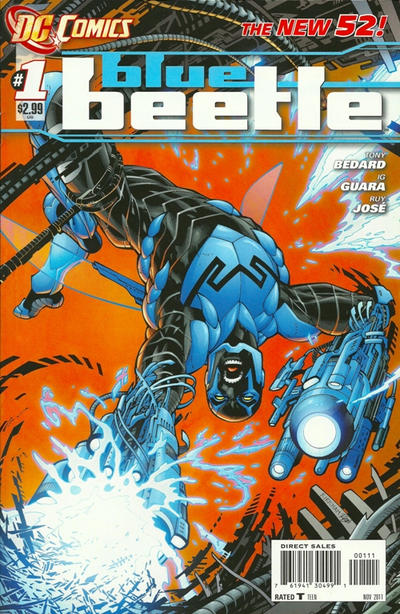 Cover for Blue Beetle (DC, 2011 series) #1