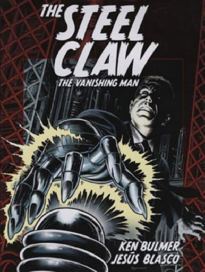 Cover for Steel Claw: The Vanishing Man (Titan, 2005 series)
