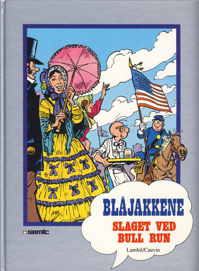 Cover for Blåjakkene [Seriesamlerklubben] (Semic, 1993 series) #[17] - Slaget ved Bull Run