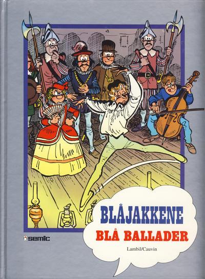 Cover for Blåjakkene [Seriesamlerklubben] (Semic, 1993 series) #[18] - Blå ballader