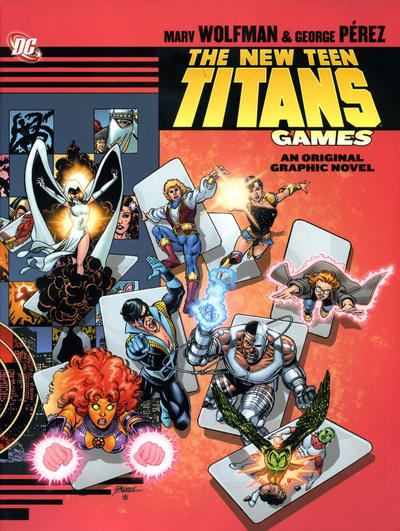 Cover for New Teen Titans: Games (DC, 2011 series)