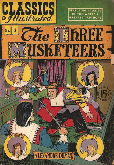 Cover for Classics Illustrated (Gilberton, 1948 series) #1