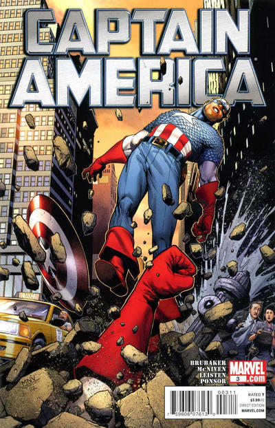 Cover for Captain America (Marvel, 2011 series) #3