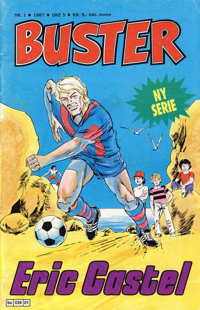 Cover for Buster (Semic, 1984 series) #1/1987