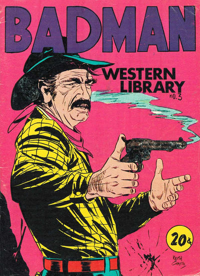 Cover for Badman Western Library (Yaffa / Page, 1971 ? series) #3