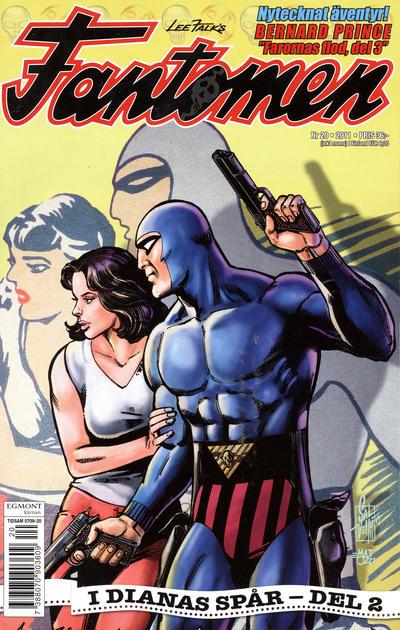 Cover for Fantomen (Egmont, 1997 series) #20/2011