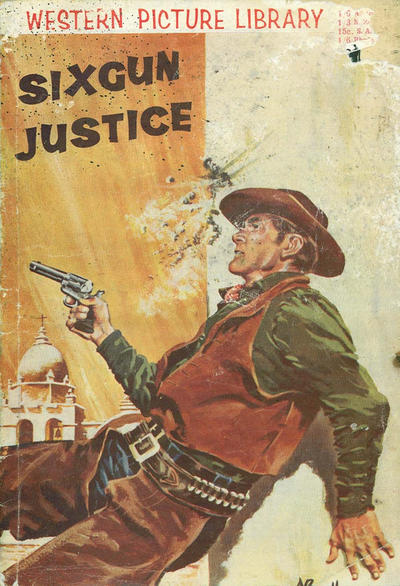 Cover for Western Picture Library (Pearson, 1958 series) #[nn] - Sixgun Justice