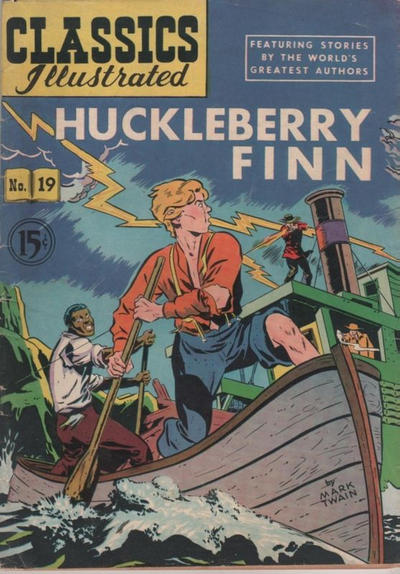 Cover for Classics Illustrated (Gilberton, 1948 series) #19 [HRN 67]
