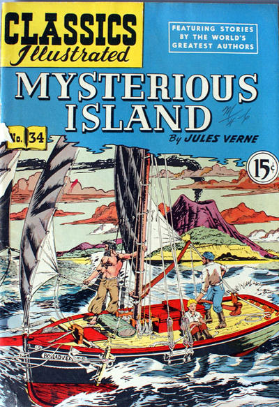Cover for Classics Illustrated (Gilberton, 1948 series) #34