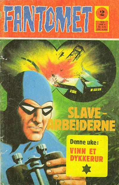 Cover for Fantomet (Nordisk Forlag, 1973 series) #2/1973