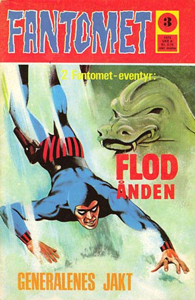 Cover for Fantomet (Nordisk Forlag, 1973 series) #3/1973