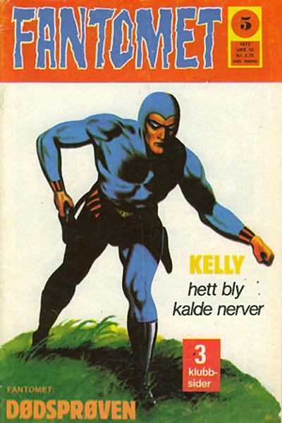 Cover for Fantomet (Nordisk Forlag, 1973 series) #5/1973