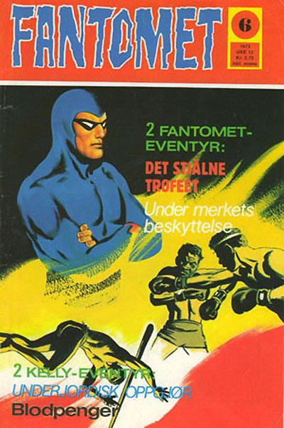 Cover for Fantomet (Nordisk Forlag, 1973 series) #6/1973