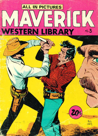 Cover for Maverick Western Library (Yaffa / Page, 1971 ? series) #3