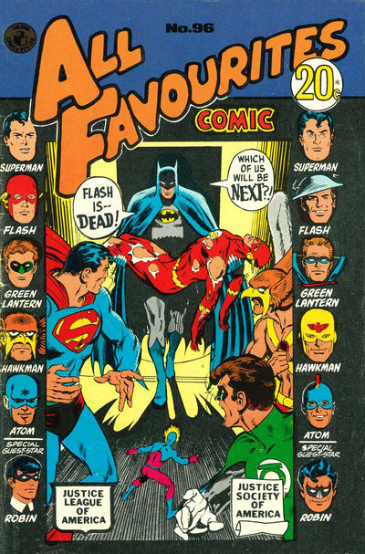 Cover for All Favourites Comic (K. G. Murray, 1960 series) #96